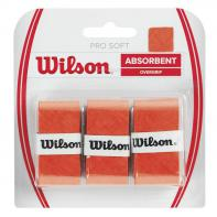 Овергрип WILSON Pro Soft Overgrip x3 Orange